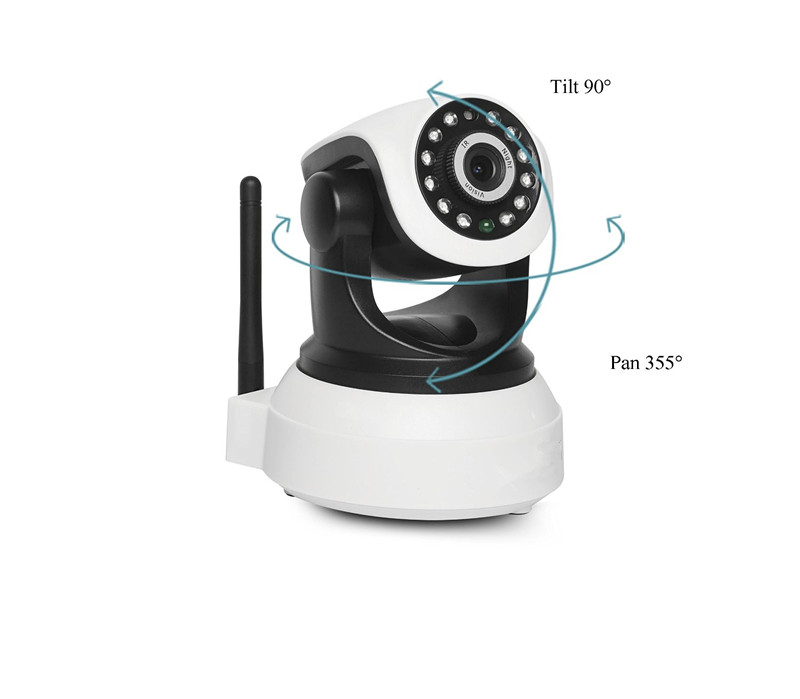 960p Audio Smart Home Wifi HD P2P Pet IP Camera