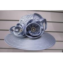 Chapeaux de fantaisie recouverts de tissu pour femmes