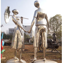 2016 New High Quality Stainless Steel Sculpture About Love Statue