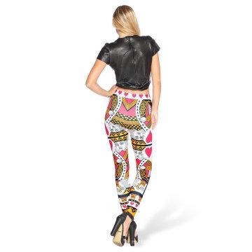Los más nuevos 2016 pantalones / medias de la yoga de la impresión de encargo de Digitaces