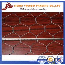 Отверстие 50мм оцинкованная Шестиугольная птицы плетение провода / Шестиугольная сетка