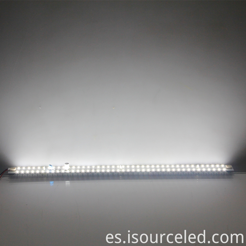 9W LED Linear Modules product power-on luminous diagram