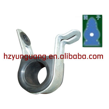 Abrazadera en forma de O / OU / abrazadera especial / línea de alimentación eléctrica / abrazadera de acero / herraje de construcción