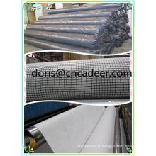 Géotextiles composés composés de géogrilles de fibre de verre
