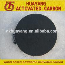 300mesh de polvo de madera basado en el precio del carbón activado por tonelada
