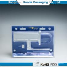 Personalização de embalagens de plástico para hardware