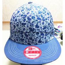 Более цветная печатная ткань Быстрое восстановление и 3 D Вышивка Бейсбольная кепка