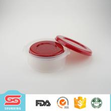 3 pcs en plastique rond conteneur de nourriture écologique pour la cuisine