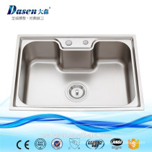 DS 7050 Single Bowl Steel Enamel Stainless Steel Modern Bathroom SUS 304 USED Wholesale Kitchen Sink