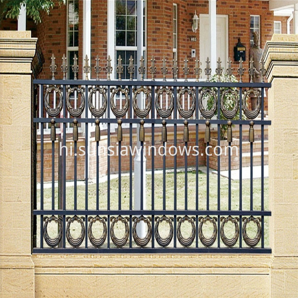 Cast Aluminum Garden Fences
