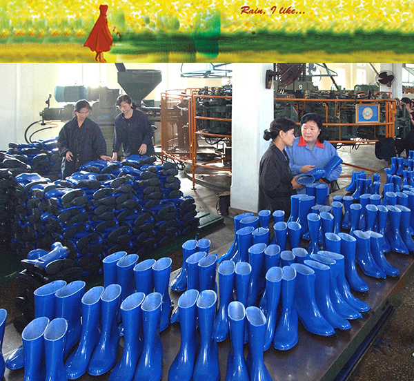 Rain Boots Production