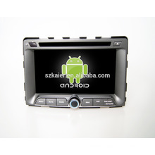 Quad core!car dvd with mirror link/DVR/TPMS/OBD2 for 7inch touch screen quad core 4.4 Android system Ssangyong Rodius