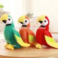 Perroquets en peluche doux de haute qualité jouets en gros