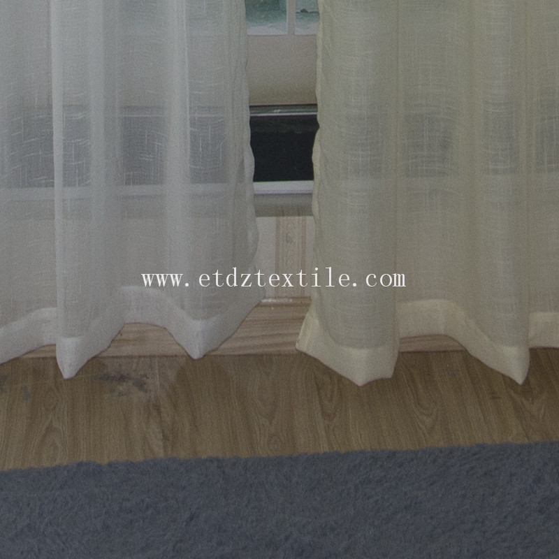 Hot Selling Sheer Voile Window Curtain