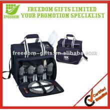 Portable Duffule Bag Design Picnic Tableware Set