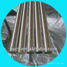 H11 Mill fini 304 acier inoxydable brillant barre ronde / tiges d'acier fabrication vente directe