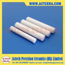 Alto rendimiento Zirconia y alúmina cerámica varillas/ejes/Pin