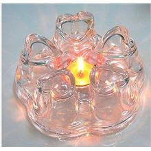 New Design Heart Shape Glass Teapot Warmer for Wholesaler