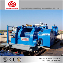 Diesel Engine Driven Mud Pump Working for Drilling Industry