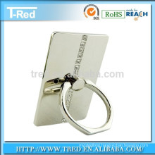 Smart decorative ring holder stand for tablet and smart phone