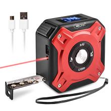 Mètre de mesure de distance de bande laser numérique multifonction