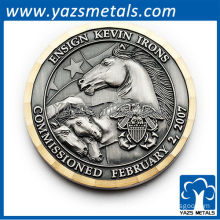 custom high cheap military metal coins