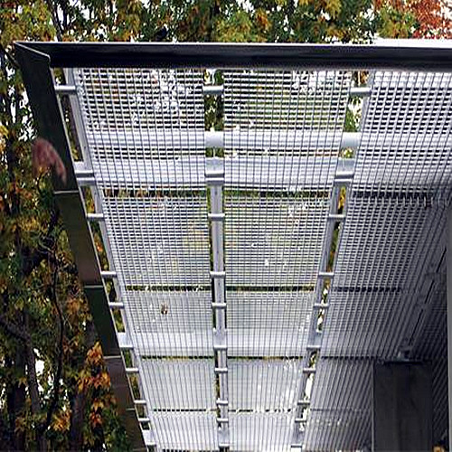 Steel Grid Sun Shade Panels
