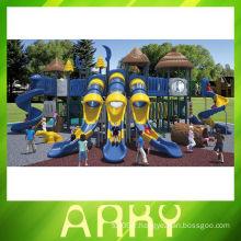 Équipement de jeu pour tout-petits Série Nature Équipement de terrain de jeu extérieur / structure de jeu de parc