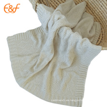 Patrones de acrílico suave puro de las mantas del bebé del diseñador para los niños