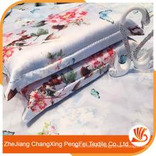 New Design Elegant Flower Printing Colorful Magic High Quality 3d bed sheet