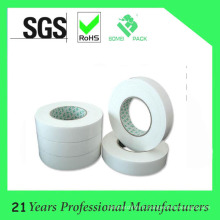Ruban de tissu double face imperméable de haute qualité avec couleur blanche