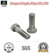High Quality Nickel Alloy B2 B3 C4 C22 C276 G30 Hex Head Bolt