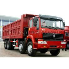 Caminhão basculante 8x4 ZZ3311N3062W de Swz