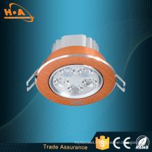Éclairage de plafond de la lumière LED de plafond de la lampe 5 * 1W LED