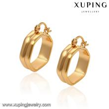 91565 новый летний арабский стиль свободный размер мода золотой обруч серьги конструкции