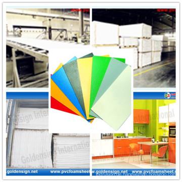 Unterschiedliche Dichte-Polyurethan-Schaum-Blätter / PVC-Schaum-Blatt / PVC geben Schaumgummi-Blatt frei