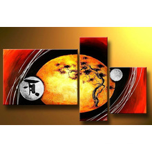 Beautiful Created Abstract Oil Painting