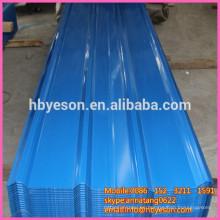 Sistema de hoja de techo / material de techado / cubierta de metal de acero para la venta
