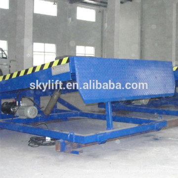 10 ton stationary warehouse iron ramp