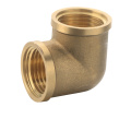 T1232 forged brass pipe fitting brass elbow