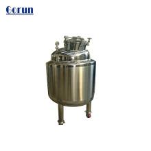 Tanque de almacenamiento de agua de acero inoxidable sanitario
