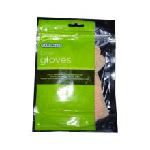 Luva de látex descartável com embalagem de saco impresso