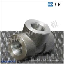 Sch80 / Xs Gewinde T-Stück B626 Uns N10276 (Hastelloy C276