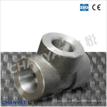 Sch80/Xs Threaded Tee En/DIN (1.4311, X2CrNiN1810)