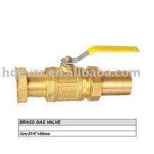 Новый стиль латунь газовый клапан