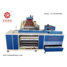 Extrusora de película de estiramiento de alta velocidad de múltiples capas