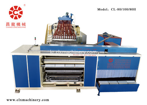 cast co-extrusion film machine