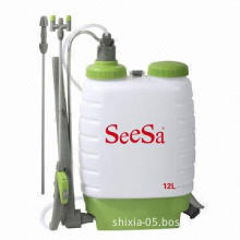 Pressure Sprayer with PVC Hose and PP Handle, Available in Capacity of 12L