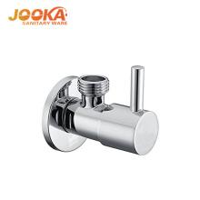 Round design bathroom heater angle valve in zinc