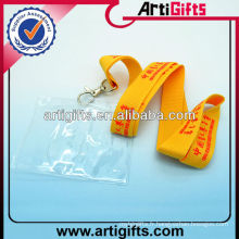 Cheap neck id card holder lanyard badge